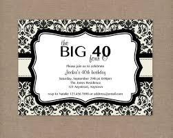 free 40th birthday party invitation templates 21 40th birthday
