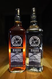 White Oak Rum On A Table Mhoba Rum