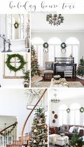 christmas home decorations ideas 209 best christmas home tours images on pinterest christmas home