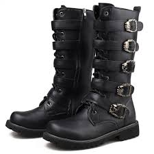 s boots with buckles s leather boots 5 buckles skull leather price