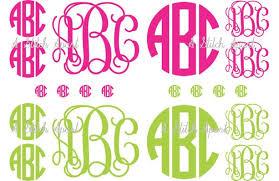 monogram stickers monogram stickers for car monogrammed vinyl decals monogrammed