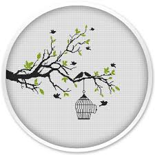 birds cross stitch patterns tree cross stitch cross stitch