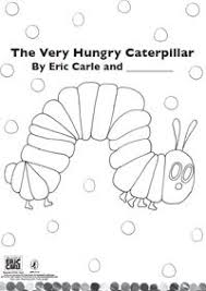 eric carle coloring pages the very hungry caterpillar printables free hungry caterpillar