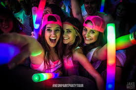 neon party neon paint party tour in orange county w mightyfools live