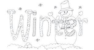 free winter coloring pages background coloring winter coloring