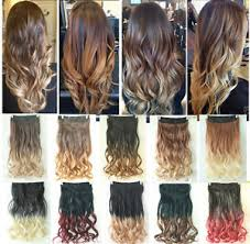 ombre hair extensions clip in dip dye clip in on ombre hair extensions synthetic curly