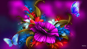 vibrant wallpaper flowers high velocity flowers bright colors floral pink vibrant