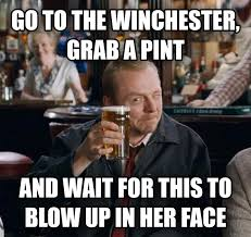 Head Cold Meme - livememe com go to the winchester have a nice cold pint and