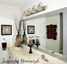 Mirror Framed Mirror Bathroom Tile Framed Mirrors Bathroom Awesome Yellow Tile Framed Mirrors