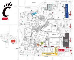 Uc Map University Of Cincinnati Official Athletic Site