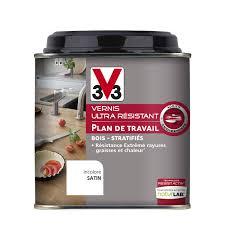 plan de travail cuisine resistant chaleur vernis plan de travail resist activ v33 0 5 l incolore leroy