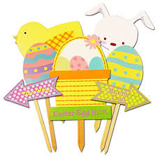 Easter Egg Yard Decorations by Easter Egg Lawn Decor And Easter Egg Hunt Yard Decorations