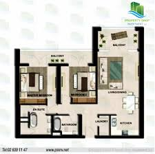 Silver Towers Floor Plans by 2 Br Type A1 Tower A Level 2 To 14 Bua 1248 Sqft Floor Plan Al