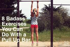 Diy Backyard Pull Up Bar 8 badass exercises you can do with a pull up bar work me out
