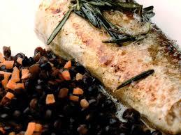 cuisiner le merluchon dos de merluchon aux lentilles vertes du puy plats 365 calories