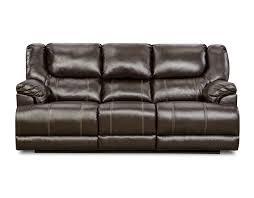 simmons bentley power motion sofa bingo brown