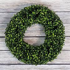 buy boxwood wreath artificial wreath for the front door by