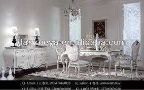 sala da pranzo in francese colore bianco sala da pranzo in stile francese di mobili tavolo