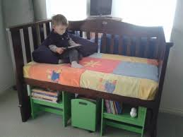 Nook Crib Mattress Ideas To Repurpose Upcycle Used Baby Cribs