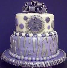 lavender baby shower zebra polka dot themed baby shower cake in lavender lilac
