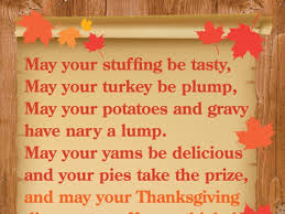 a thanksgiving prayer for