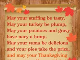 a thanksgiving prayer for