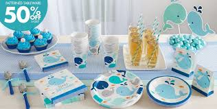 whale baby shower whale baby shower party supplies diabetesmang info
