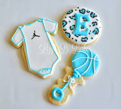 lizy b jungle safari baby shower cookies