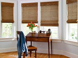 Elegant Window Treatments by Natural Woven Wood Shades Custom Made Shades Blinds To Go