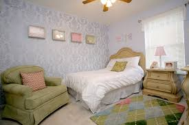wall stencils for bedrooms damask stencil wall for daughters bedroom how to nest for less