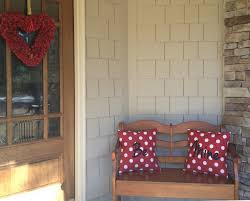 Large Decorations For Valentines Day by Exquisite Home Porch Valentine Deco Containing Harmonious