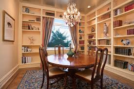 dining room shelves with ch andelier dining room modern and casual
