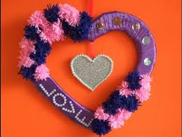 Valentine S Day Hanging Decorations by Valentine U0027s Day Wreath Decoration Gift Wall Decoration Wall