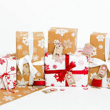 rustic christmas wrapping paper best 25 brown christmas wrapping paper ideas on