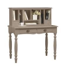 secretaire bureau meuble pas cher bureau secrétaire taupe charme maison et styles