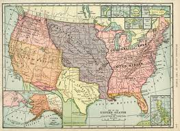 Unites States Map by United States Map Vintage Map Download Antique Map History