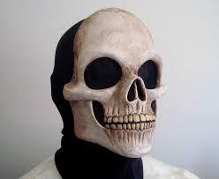 Skeleton Mask Painted Grave Skull Mask By Nightlyre On Deviantart