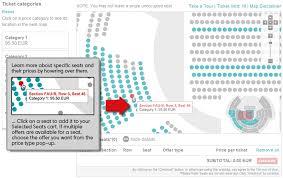 seat map seat map ticketmaster