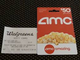 new 50 amc theaters movie gift card fifty dollars fast free