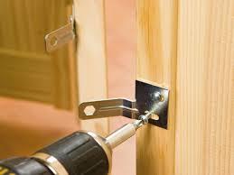 How To Break Into A Garage Door by Install Bifold Closet Doors How Tos Diy