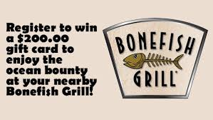 bonefish gift card bonefish summer duos contest gator 107 9