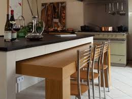 modele cuisine avec ilot central table ilot central table escamotable avec cuisine beta haut de 2017 et
