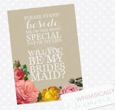 bridesmaid invitations bridesmaid invite things i ve made wedding