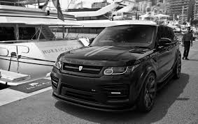 black chrome range rover 2017 revere hsr wide body package for the range rover sport