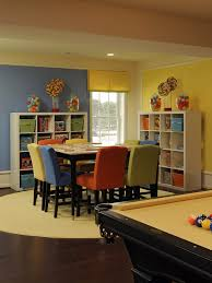 Family Room Game Room Design Play Room Love The Versatility - Fun family room