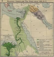 Mideast Map Vismor Historical Atlas Middle East