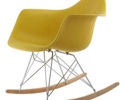 Eames Inspired Rocking Chair Eames Rocker Etsy