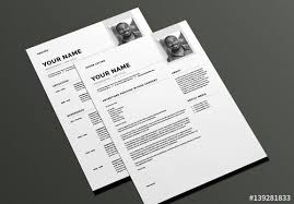 cover letter layout modern resume and cover letter layout buy this stock template and