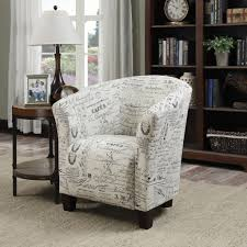 Childrens Ottoman by Chair Monarch Childrens Accent Chair French Script The Brick