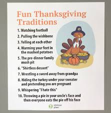 obvious plant on thanksgiving traditions https t
